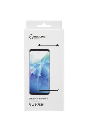Защитное стекло 3D Red Line для Samsung Galaxy S20 Plus, черная рамка, полный клей