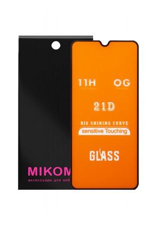 Защитное стекло 21D Mikomo для Xiaomi Mi 9 SE, черная рамка, полный клей