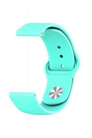 Силиконовый ремешок для Amazfit Bip Lite, 20 мм, застежка pin-and-tuck, мятный, ml-07