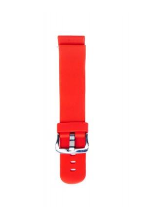 Силиконовый ремешок для Amazfit Stratos 2, 22 мм, красный, mc-01