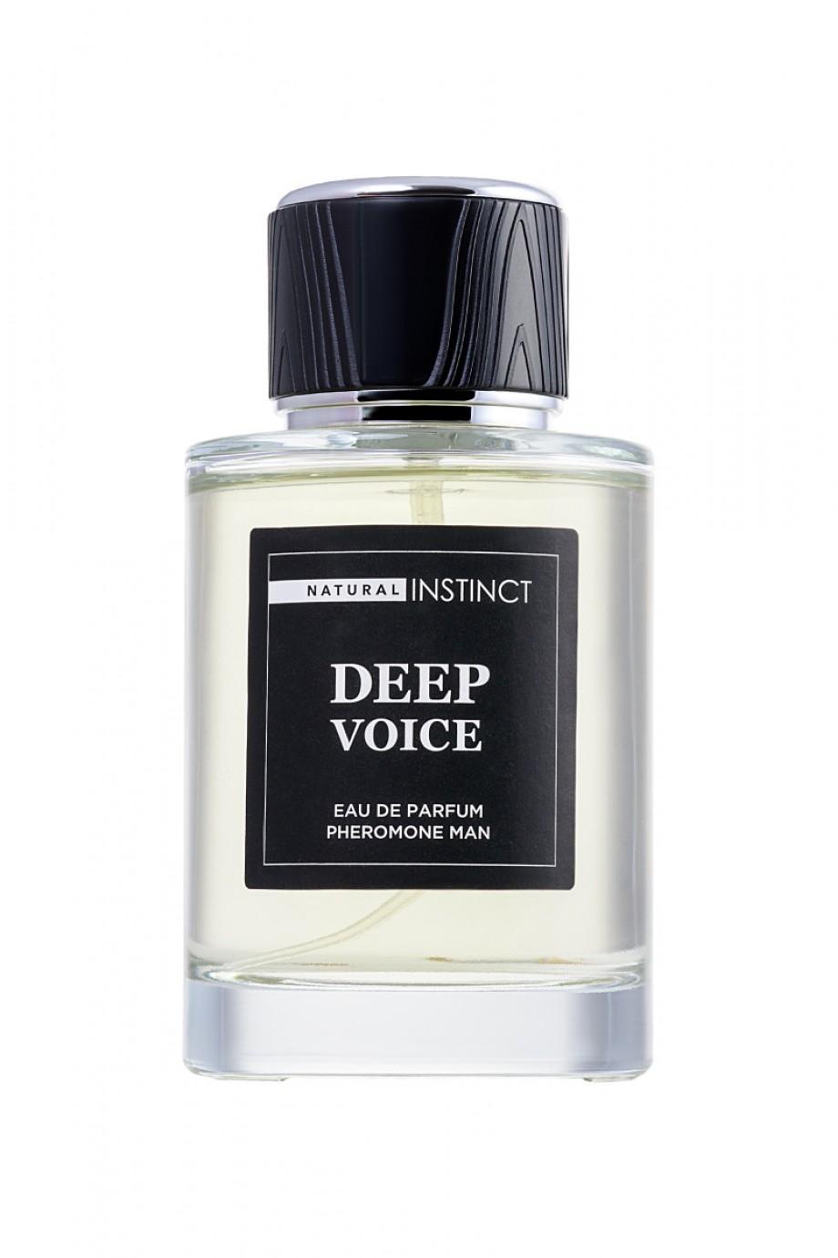 "Парфюмерная вода с феромонами Natural Instinct ""Deep Voice"" мужская 100 мл"
