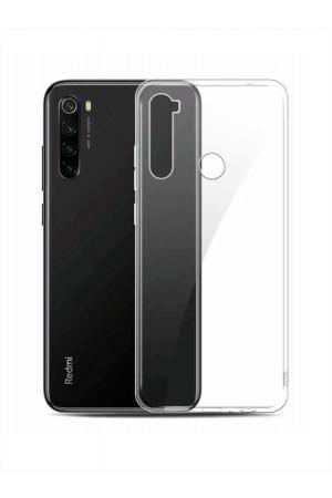 Чехол силиконовый для Xiaomi Redmi Note 8T, прозрачный