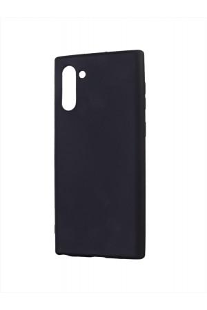Чехол силиконовый для Samsung Galaxy Note 10, черный