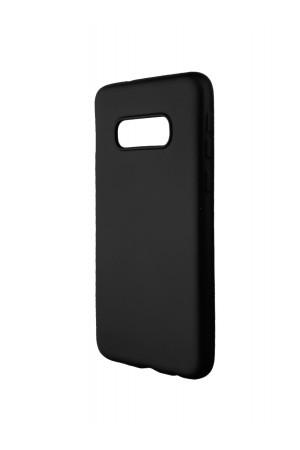 Чехол силиконовый Brauffen для Samsung Galaxy S10e, Soft Touch, черный