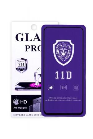 Защитное стекло 11D Glass Pro для Honor V30, черная рамка, полный клей, mk070