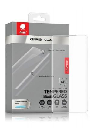 Защитное стекло 6D Ainy для Samsung Galaxy S10, UV с УФ лампой, полный клей