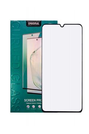 Защитное стекло 3D для Xiaomi Mi Note 10 Pro, черная рамка, полный клей