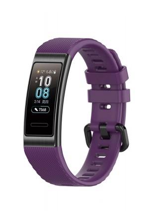 Силиконовый ремешок для Huawei Band 3 Pro, фиолетовый
