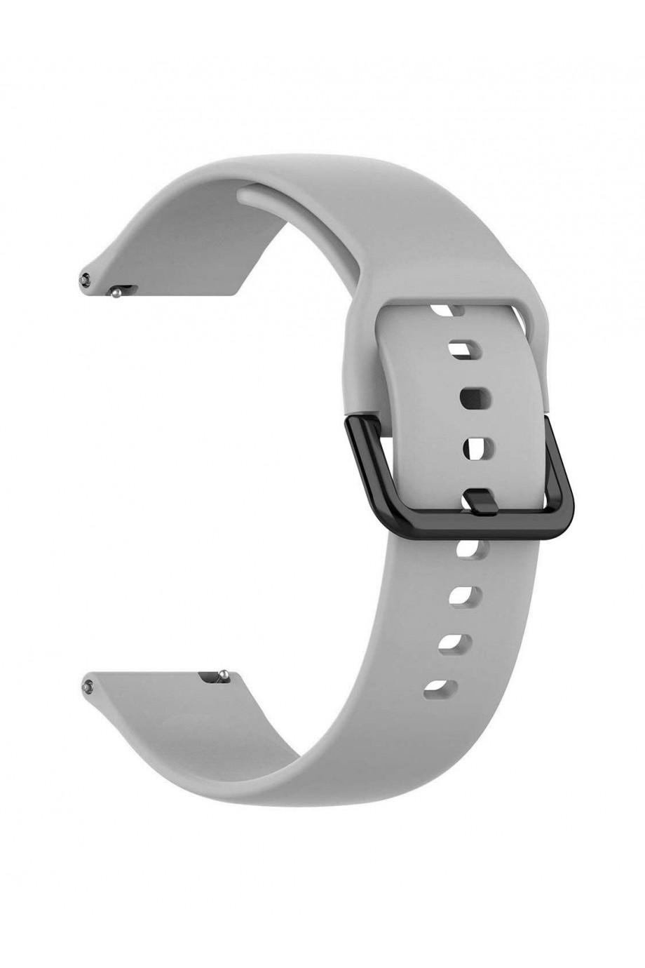 Силиконовый ремешок для Amazfit Bip Lite, 20 мм, застежка пряжка, S90-011