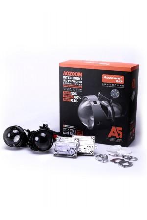 Светодиодная линза Aozoom A5, 2.5 дюйма, 5000К, 2 шт