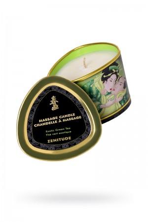 Массажное аромамасло Shunga Zenitude с ароматом зелёного чая, 170 мл
