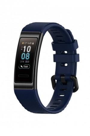 Силиконовый ремешок для Huawei Band 3, темно-синий