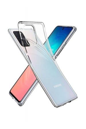 Чехол силиконовый для Samsung Galaxy S10 Lite, прозрачный