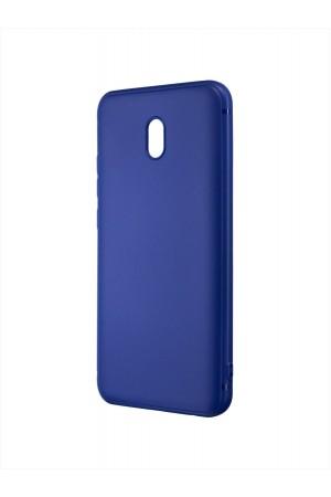 Чехол силиконовый Brauffen для Xiaomi Redmi 8A, синий