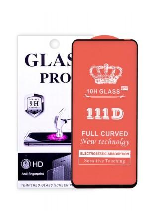 Защитное стекло 111D Glass Pro для Honor 30, черная рамка, полный клей