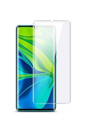 Защитное стекло 3D для Xiaomi Mi Note 10 Pro, UV с УФ лампой, полный клей
