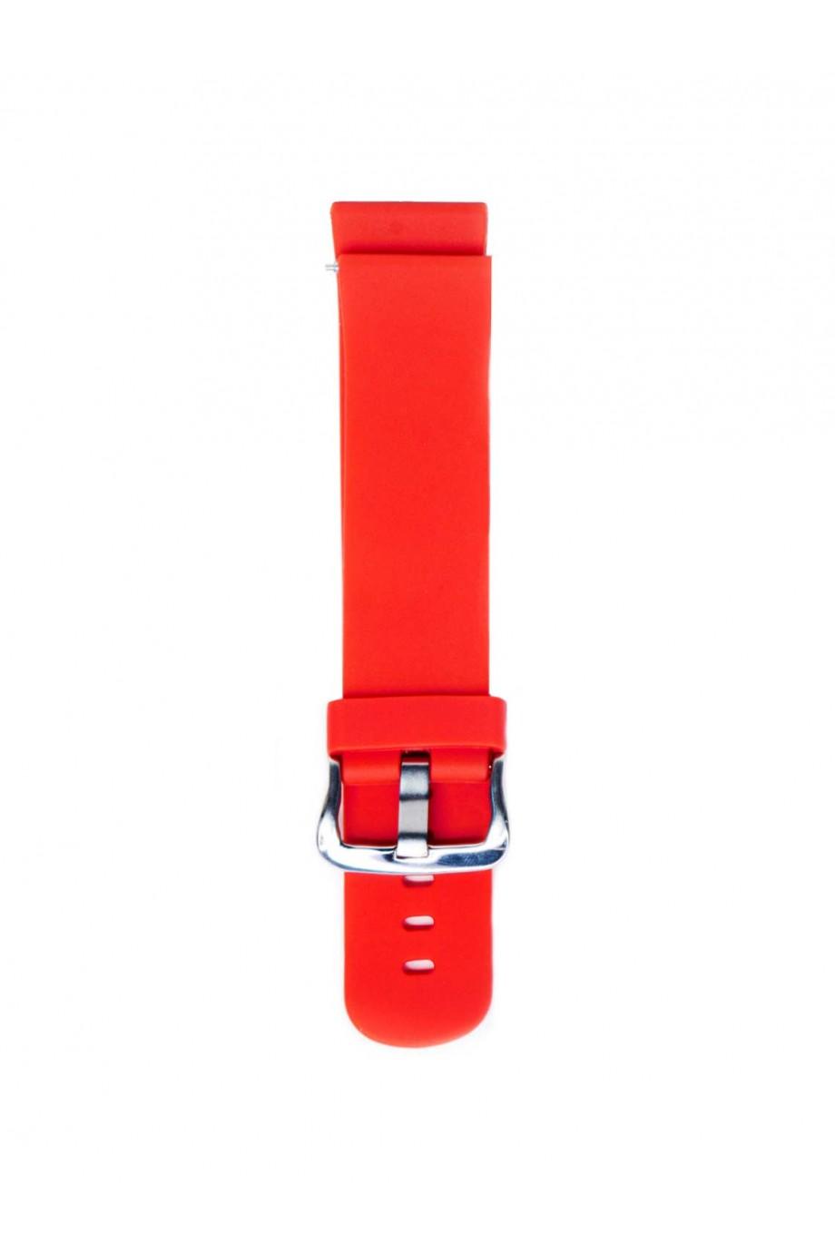 Силиконовый ремешок для Amazfit Stratos 2s, 22 мм, красный, mc-01