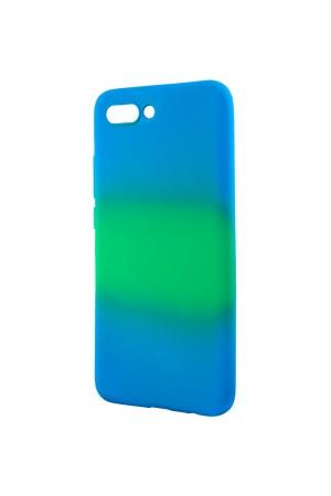 Чехол силиконовый для Honor 10, разноцветный