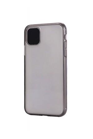 Чехол силиконовый Borofone для iPhone 11, прозрачный, темный