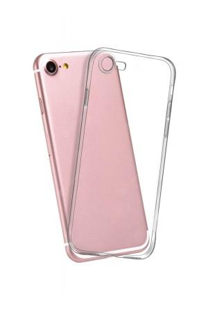 Чехол силиконовый для iPhone 8, прозрачный
