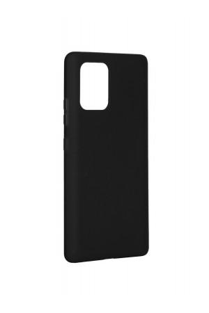 Чехол силиконовый для Samsung Galaxy S10 Lite, черный