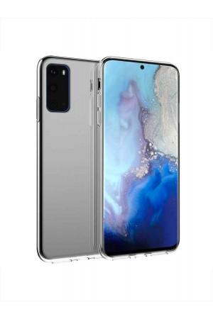 Чехол силиконовый для Samsung Galaxy S20 Plus, прозрачный