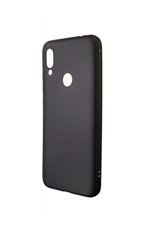 Чехол силиконовый Brauffen для Xiaomi Redmi 7, soft touch, черный