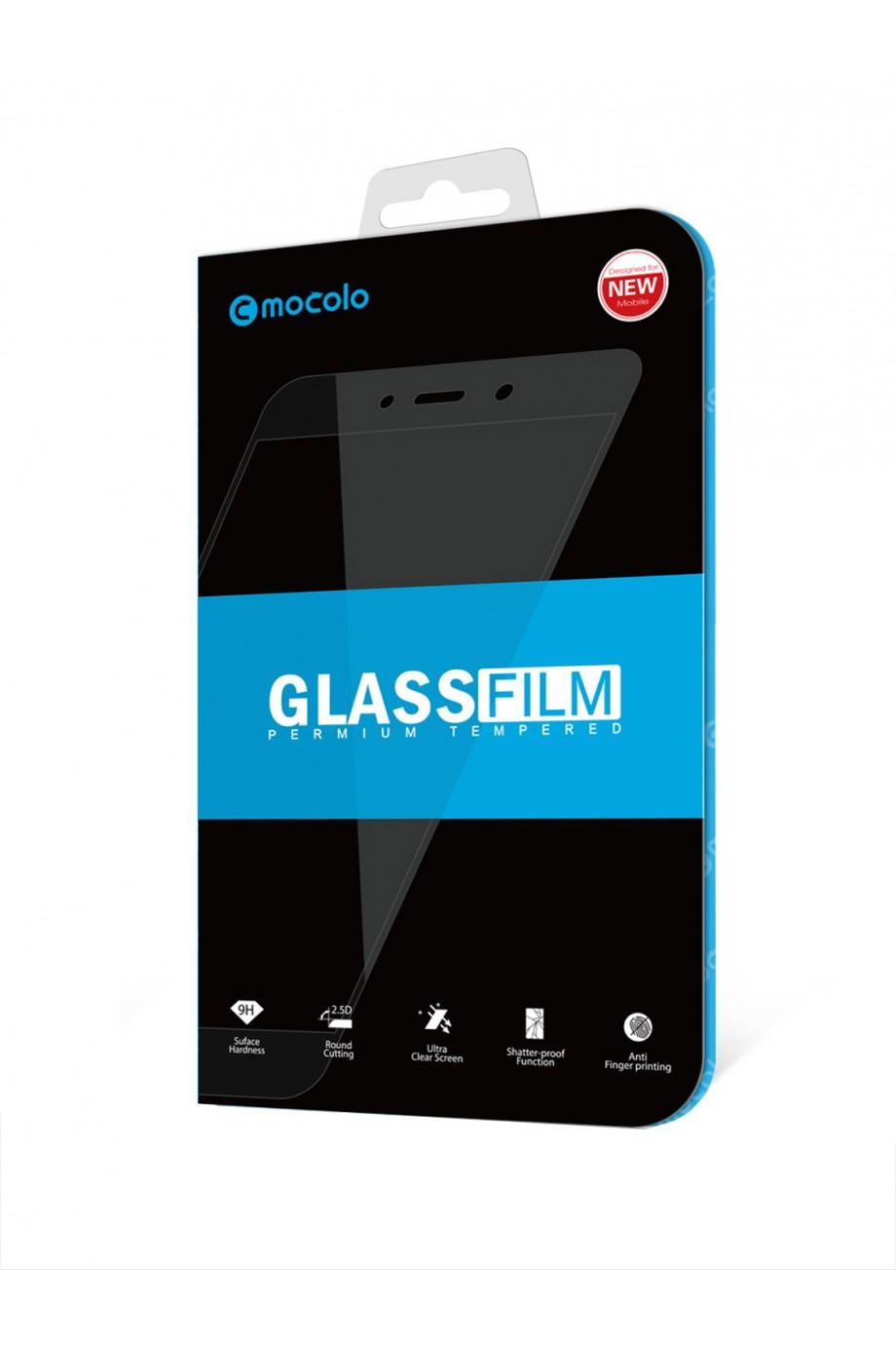 Защитное стекло 5D Mocolo для OnePlus 6T, черная рамка, полный клей