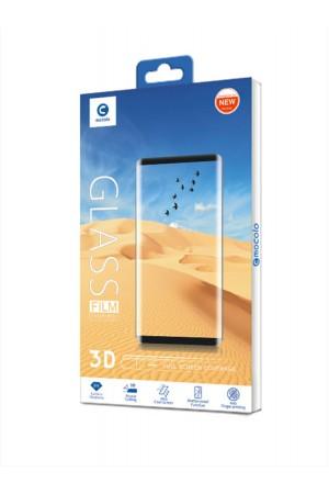 Защитное стекло 3D Mocolo для Xiaomi Redmi Note 8, черная рамка, полный клей