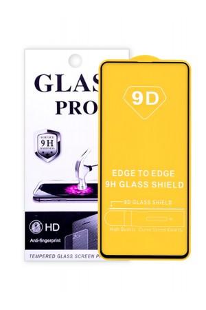 Защитное стекло 9D Glass Pro для Samsung Galaxy A51, черная рамка, полный клей