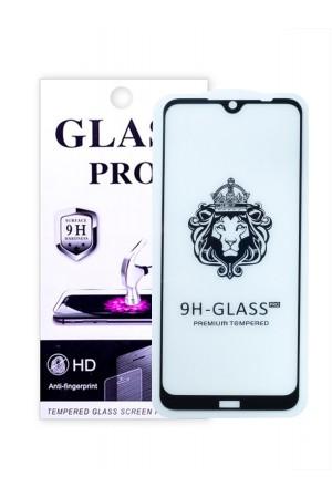 Защитное стекло 5D Glass Pro для Xiaomi Redmi Note 8T, черная рамка, полный клей