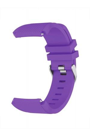 Силиконовый ремешок для Samsung Gear S3, фиолетовый