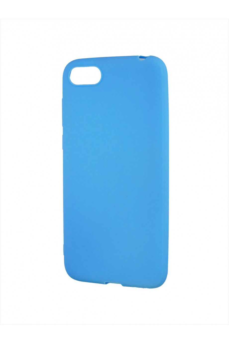Чехол силиконовый для Honor 7A, голубой