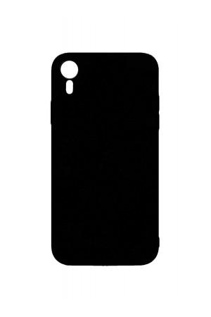 Чехол силиконовый Brauffen для iPhone XR, черный