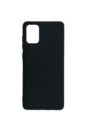 Чехол силиконовый для Samsung Galaxy S20 Plus, черный