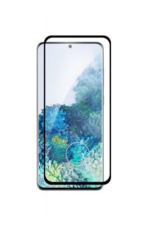 Защитное стекло Ace Shield 3D для Samsung Galaxy S20 Ultra, отверстие под палец, черная рамка, полный клей