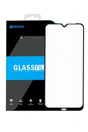 Защитное стекло 5D Mocolo для Xiaomi Redmi Note 8, черная рамка, полный клей
