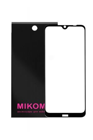 Защитное стекло 5D Mikomo для Xiaomi Redmi Note 8T, черная рамка, полный клей