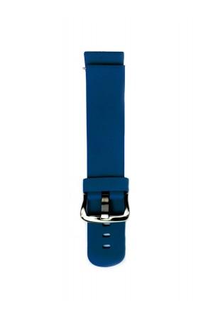 Силиконовый ремешок для Amazfit Stratos 2s, 22 мм, темно-синий