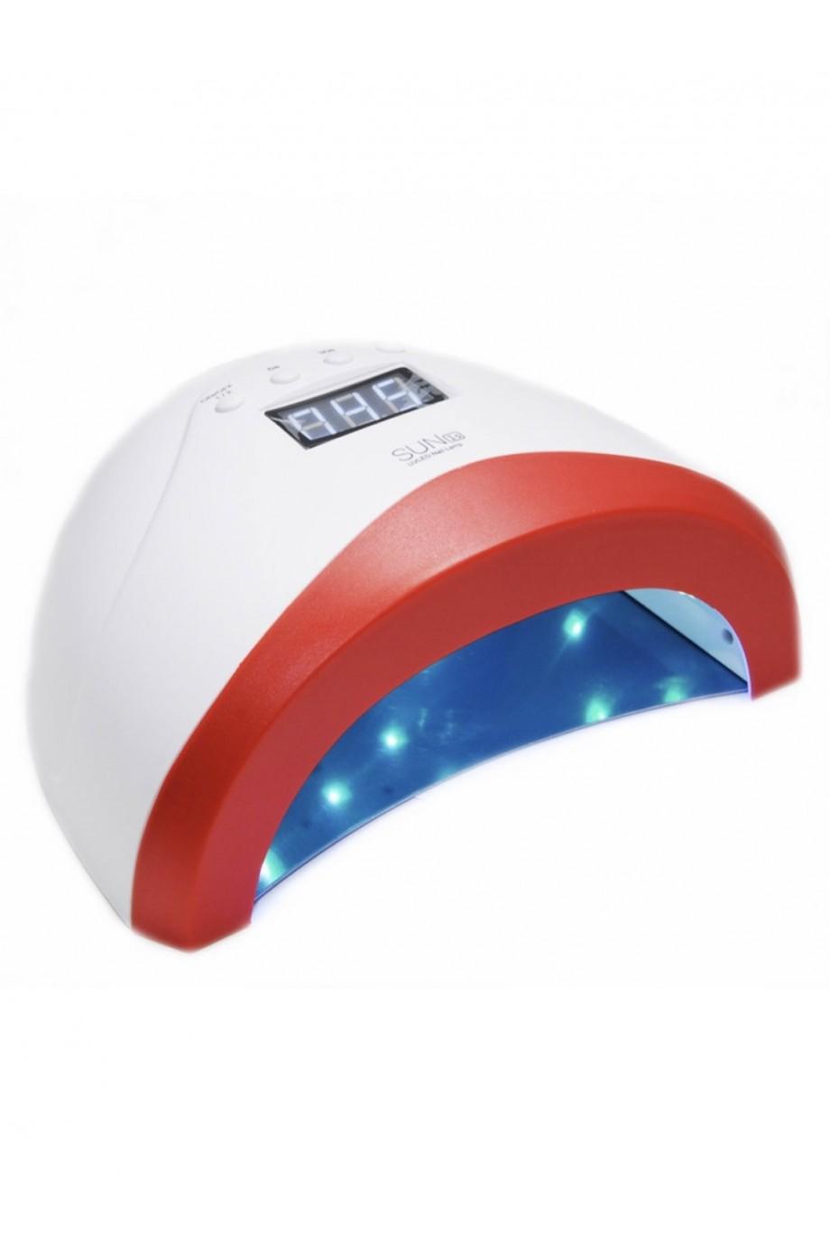 Лампа для сушки лака Sun 1S, LED/UV, 24/48 Вт, белый
