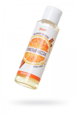 Масло для массажа Yovee by Toyfa «Ароматный массаж», с ароматом апельсина и корицы, 50 мл